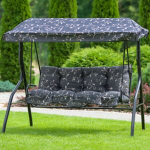 Replacement swing cushions set with canopy 130 cm Luna / Kate G001-07PB PATIO
