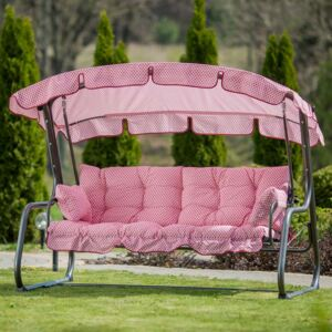 Replacement swing cushions set with canopy 170 cm Ravenna H033-03PB PATIO