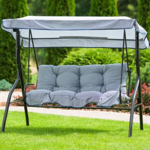 Replacement swing cushions set with canopy 130 cm Luna / Kate H033-01PB PATIO