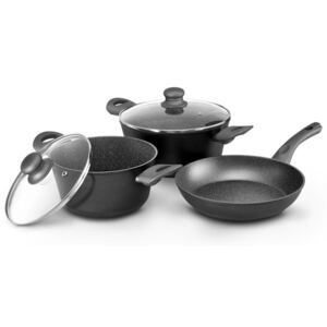 Set of cooking pots with frying pan Mistral 5 pcs AMBITION