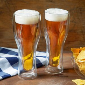 Set of 2 thermal beer glass Mia 400 ml AMBITION