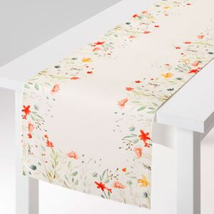 Table runner Pastel Flowers 40 x 150 cm AMBITION