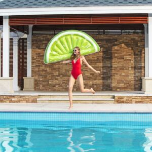 Inflatable swimming pool air mattress Lime 171 x 89 cm BESTWAY