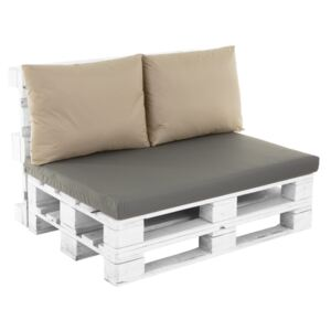 Pallet backrest cushion with zippers Larisa Basic D031-15CW PATIO