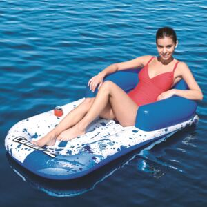 Inflatable mattress, armchair with backrest Cool Blue Lounge 161 x 84 cm BESTWAY