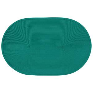 Placemat Hawai 45 x 30 cm oval dark green AMBITION
