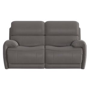 Link 2 Seater Leather Power Recliner Sofa with Power Headrests