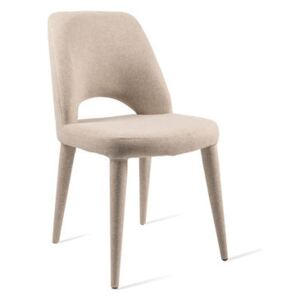 Holy Padded chair - / Fabric by Pols Potten Beige