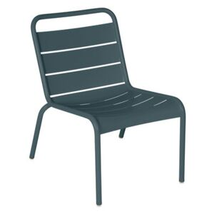Luxembourg Lounge chair - / Low seat by Fermob Grey
