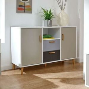 Multi Colored Large Sideboard