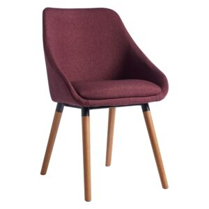 Milly Dining Chair - Plum - Set of 2