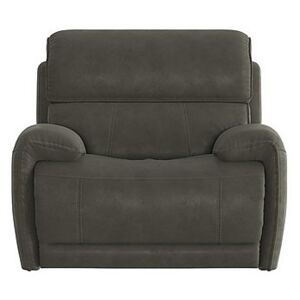 Link Fabric Power Recliner Armchair with Power Headrests