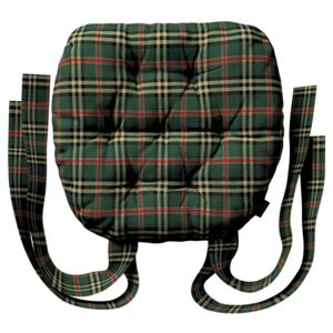 Martin seat pad with bows
