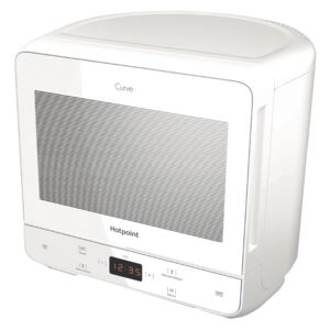 Hotpoint Curve MWH 1331 FW 13L 700W Solo Microwave