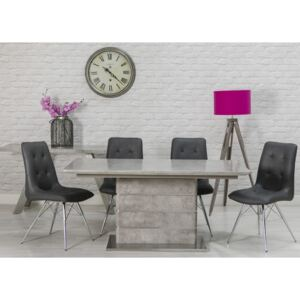 Daphne Round Extending Dining Table 1200mm – 1600mm