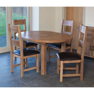 Dominic Round Extending Table