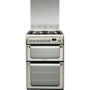 Hotpoint Stainles Steel Dual Fuel Cooker