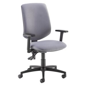 Tegan Fabric Pcb Operator Chair With 2D Arms - Made To Order