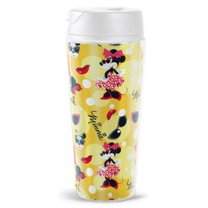 Mug / Water bottle Minnie Hollywood with removable decoration 470 ml DISNEY