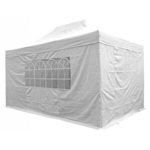 Airwave Four Seasons 3x4.5 Pop Up Gazebo with Sides - White Colour: Wh