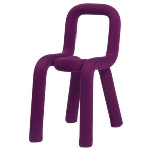 Bold Padded chair - Fabric by Moustache Purple