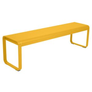 Bellevie Premium Bench - / L 161 cm - Reinforced strength for intensive use by Fermob Yellow