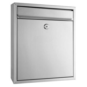 Sandleford Napoli Wall Mounted Mailbox - Stainless Steel