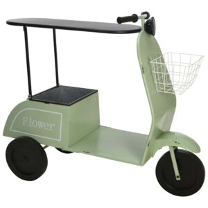 Ambiance Scooter with Table and Basket Green