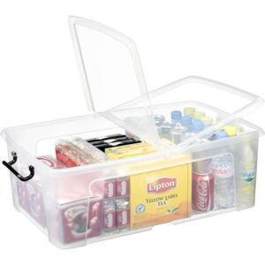 Smart Storemaster Box with Lid - Clear - 50L