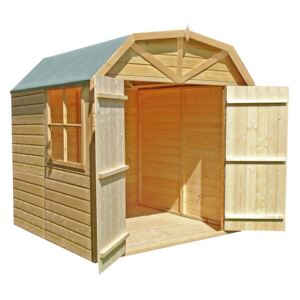 Shire Barn Style Shed - 7x7ft