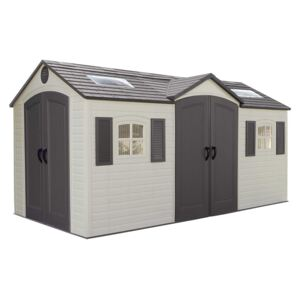 Lifetime 15x8 ft Outdoor Storage Shed