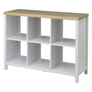 Clever Cube 2x3 Storage Unit with Legs - White