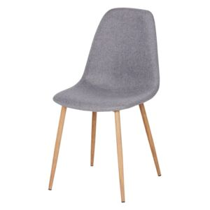 Ludlow Upholstered Dining Chair - Set of 2 - Grey