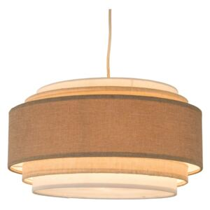 Sienna 5 Tier Easy Fit Pendant Lamp Shade - Natural