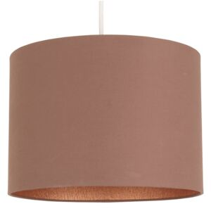 Luther Lamp Shade - Taupe with Copper Inner - 30cm