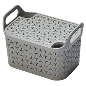 Small Urban Storage With Lid Cool Grey