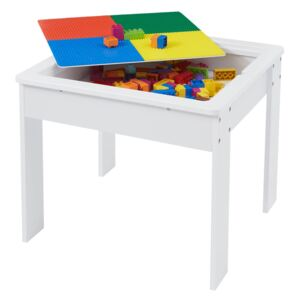 Activity Table with Reversible Top - White