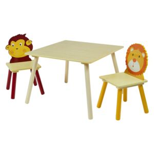 Jungle Table and Chair Set