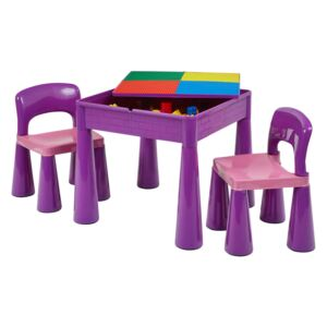 Purple Activity Table and 2 Chairs