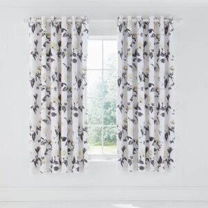 Peregrine Lined Curtains 66x72 Charcoal