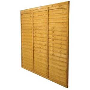 Forest Larchlap Lap 0.9m Fence Panel - Pack of 3