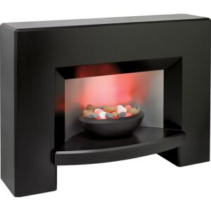 Suncrest Newham Electric Fireplace Suite - Black