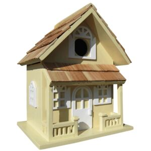 Country Cottage Bird House Yellow