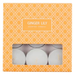 9 x Ginger Lily Tealight Candle