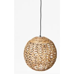 Thatched Globe Light - natural