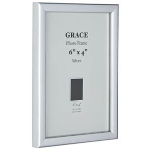 Grace Picture Frame 6 x 4 - Silver