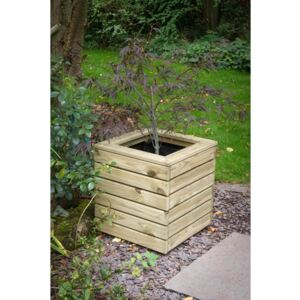 Forest Garden Wooden Linear Square Planter