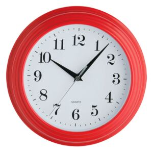 Wall Clock - Vintage Red