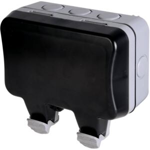 BG Twin 13A Weatherproof Switched Socket - IP66 Rated