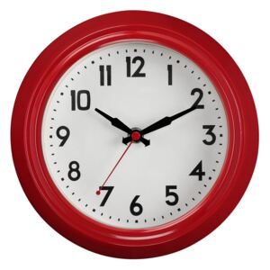 Vintage Wall Clock - Red